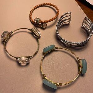 Lot of 4 bangle bracelets